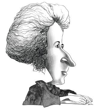 caricatura Rosa Luxemburg