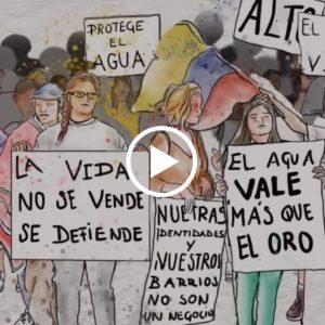 Video animado sobre extractivismo en América Latina